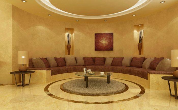 Villa Oman Marron Emperador