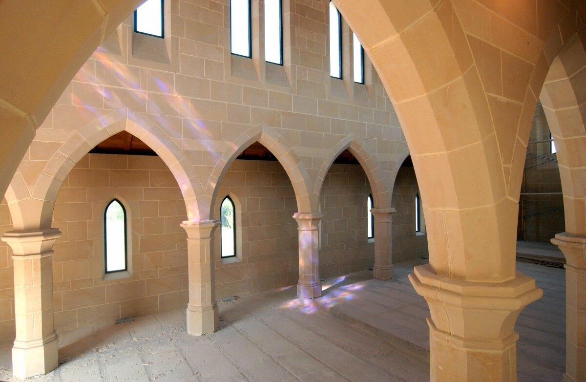 Viamonte Limestone, Abbey, USA