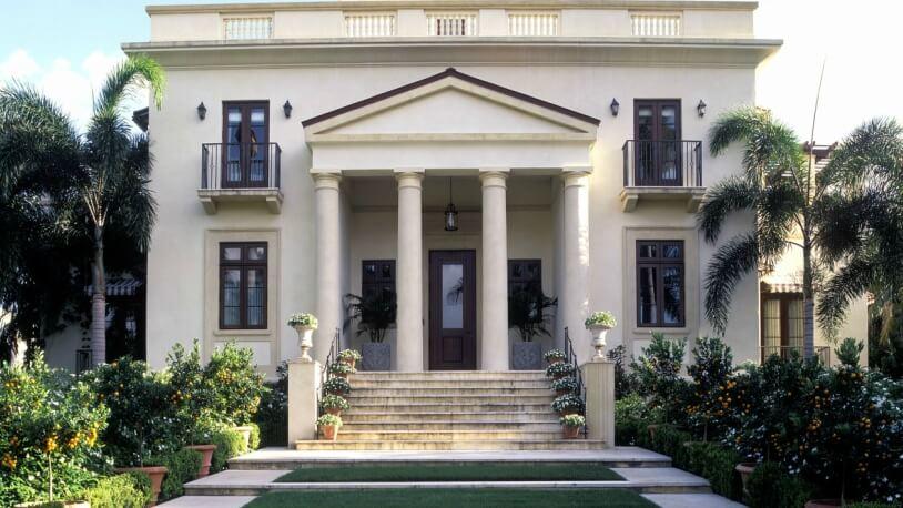 Villa Exterior-Artesania y pavimentos caliza
