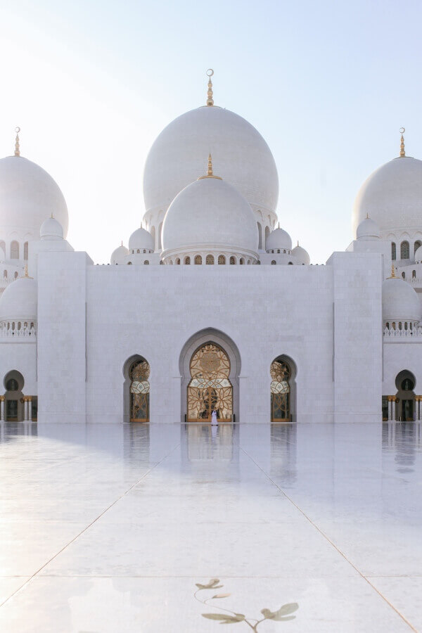 Bianco Sivec Marble, Grand Mosque Abu Dhabi
