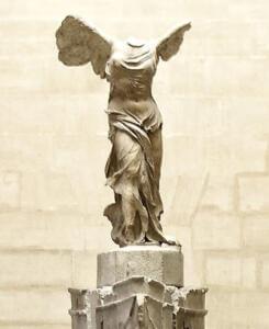 Estatua Louvre en Marmol Blanco Thassos