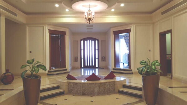 Crema Marfil Floor, interior Villa in Oman