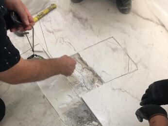 Inspeccion y peritacion suelo mármol