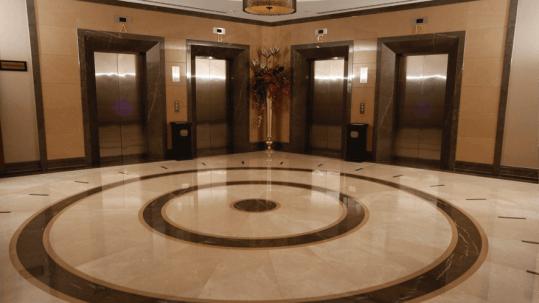 Burdur Beige Marble Floor