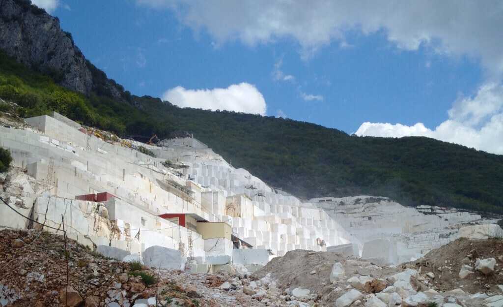 White Marble Quarry, Volakas Marble