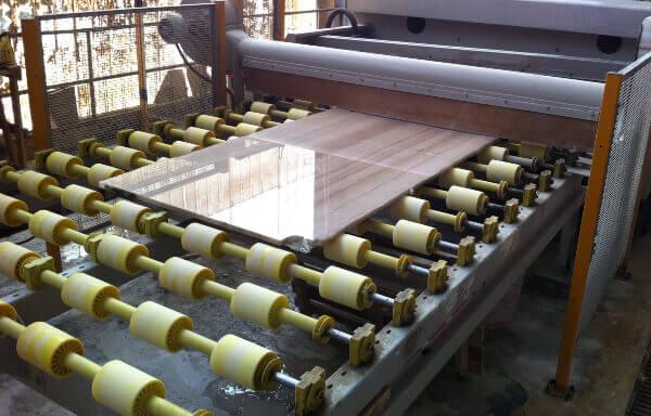 Control de Calidad en fabrica de marmol