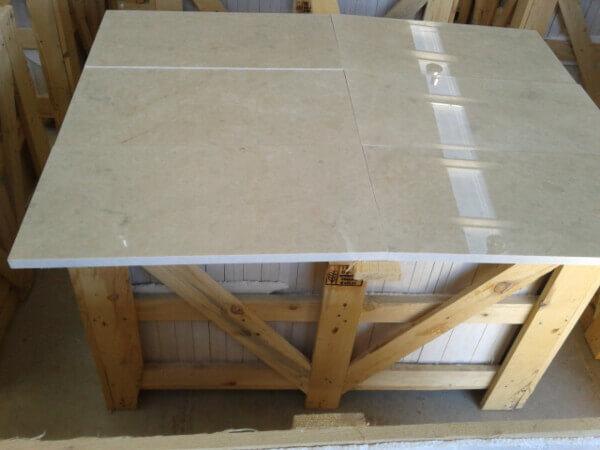 Inspeccion losas marmol para control de calidad en fabrica