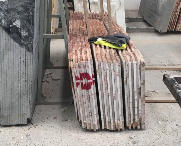 Control calidad tablas marmol en fabrica-trazabilidad de bloques y tablas