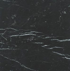 Marquina Marble Sample o Noir Marquina Marble Sample
