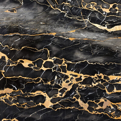 Nero portoro marble sample from italy
