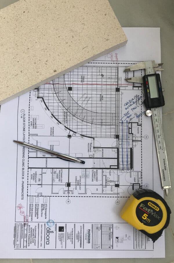 Inspeccion de materiales segun diseño y especifiaciones de proyecto