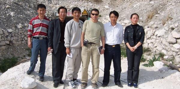 Visita Inspeccion Consultor Albora en Mina en China